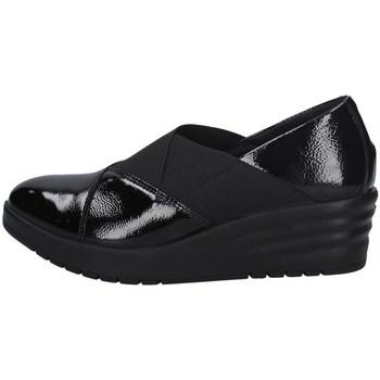 Schuhe Damen Slipper Imac 606320 SCHWARZ