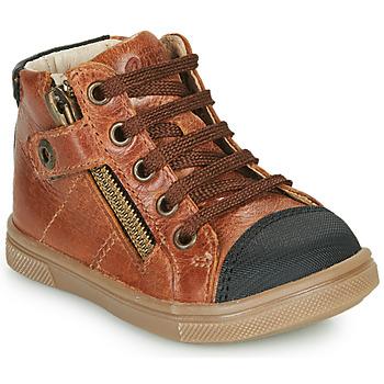 Schuhe Jungen Sneaker High GBB KAMIL Braun