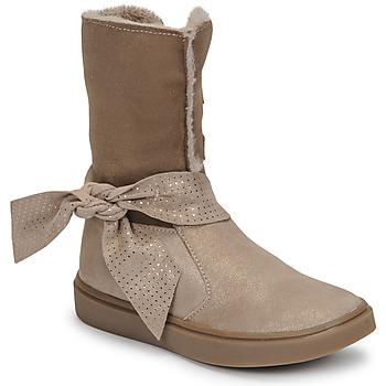 Schuhe Mädchen Klassische Stiefel GBB EVELINA Beige
