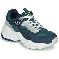 Schuhe Damen Sneaker Low Skechers D'LITES 3.0/OCEAN CLOUD Marine