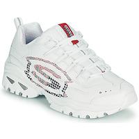 Schuhe Damen Sneaker Low Skechers ENERGY/SKY VISION Weiss