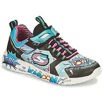 Schuhe Damen Sneaker Low Skechers DYNAMIGHT/HERO STATUS Multicolor