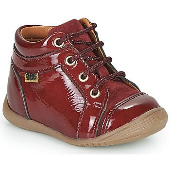 Schuhe Mädchen Sneaker High GBB OMANE Bordeaux