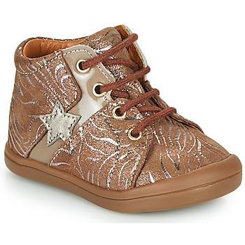 Schuhe Mädchen Sneaker High GBB DUANA Beige