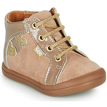 Schuhe Mädchen Sneaker High GBB PRUNE Beige