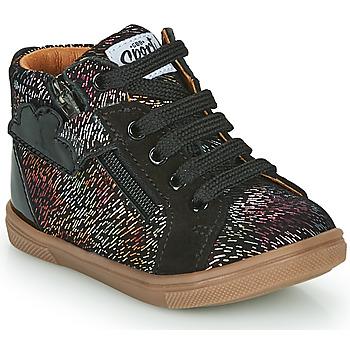 Schuhe Mädchen Sneaker High GBB VALA Schwarz