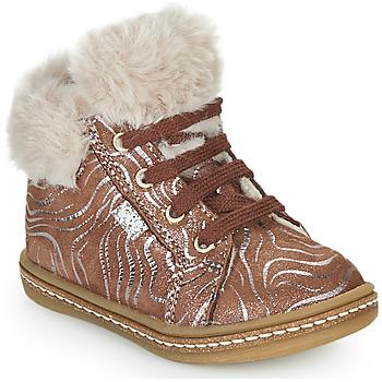 Schuhe Mädchen Sneaker High GBB JUNA Beige