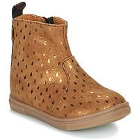 Schuhe Mädchen Boots GBB ERNA Braun