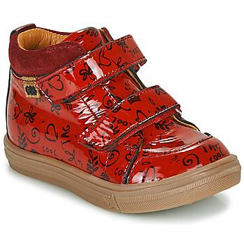 Schuhe Mädchen Sneaker High GBB DOMENA Rot