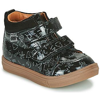 Schuhe Mädchen Sneaker High GBB DOMENA Schwarz