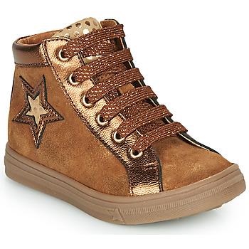 Schuhe Mädchen Sneaker High GBB TADEA Braun