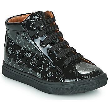 Schuhe Mädchen Sneaker High GBB PHILEMA Schwarz