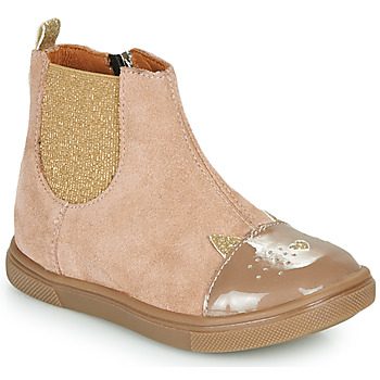 Schuhe Mädchen Boots GBB JESSINE Beige