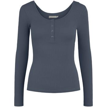 Kleidung Damen Langarmshirts Pieces 17101437 Blu