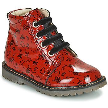 Schuhe Mädchen Sneaker High GBB NAREA Rot