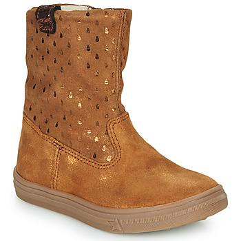 Schuhe Mädchen Boots GBB KINGA Braun