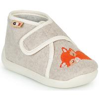 Schuhe Kinder Hausschuhe GBB APOCHOU Beige