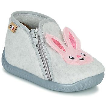 Schuhe Mädchen Hausschuhe GBB APOPOTAM Grau