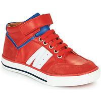 Schuhe Jungen Sneaker High GBB ALIMO Rot