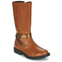 Schuhe Mädchen Klassische Stiefel GBB OKINDI Braun