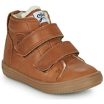 Schuhe Jungen Sneaker High GBB DIEGGO Braun