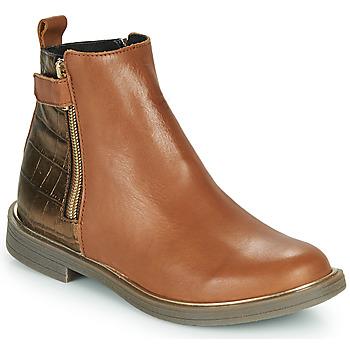 Schuhe Mädchen Boots GBB XIANA Braun
