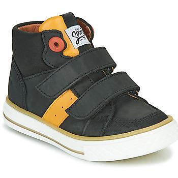 Schuhe Jungen Sneaker High GBB KIMMY Schwarz
