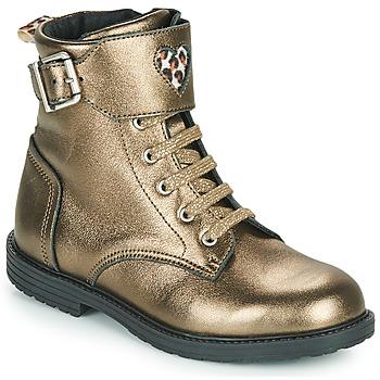 Schuhe Mädchen Sneaker High GBB DOZZY Gold