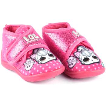 Schuhe Jungen Babyschuhe Easy Shoes - Pantofola fuxia LOP7749 FUXIA