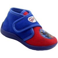 Schuhe Jungen Babyschuhe Easy Shoes - Pantofola rosso/azzurro BNP7715 ROSSO