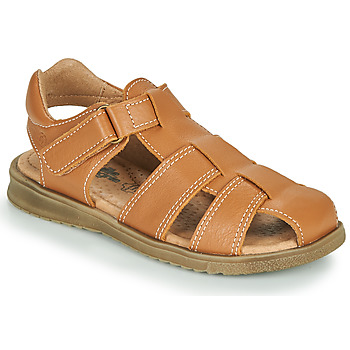 Schuhe Jungen Sandalen / Sandaletten Citrouille et Compagnie MELTOUNE Braun