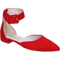 Schuhe Damen Ballerinas Olga Rubini BJ388 Rot
