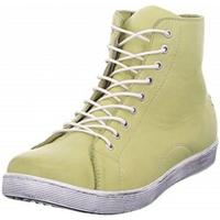Schuhe Damen Sneaker High Andreaconti So-Stiefel 0341500 limone