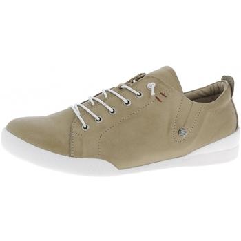 Schuhe Damen Sneaker Low Andreaconti Schnürer 0345724 taupe