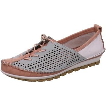 Schuhe Damen Slipper Gemini Schnuerschuhe 003138 00313801516 rosa
