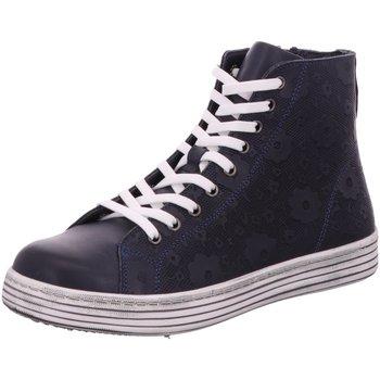 Schuhe Damen Sneaker High Gemini Stiefeletten 343211-02 802 schwarz