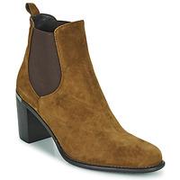 Schuhe Damen Low Boots Adige FANNY V1 CHEV VEL NOIX Braun