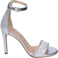 Schuhe Damen Sandalen / Sandaletten Olga Rubini BJ401 Silber