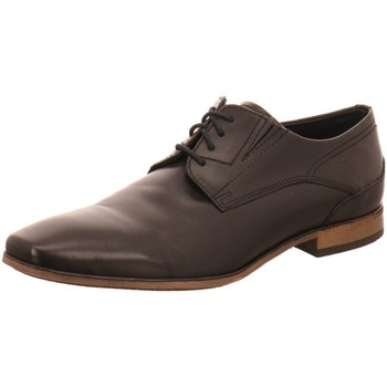 Schuhe Herren Derby-Schuhe Bugatti Schnuerschuhe Lari, 313141031000-1000 schwarz