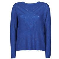 Kleidung Damen Pullover Only ONLTRIXIE Blau