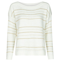 Kleidung Damen Pullover Only ONLNEW CARILEE Weiss