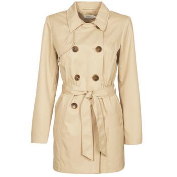 Kleidung Damen Trenchcoats Only ONLVALERIE Beige