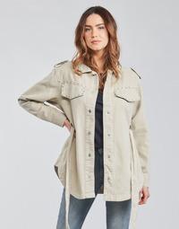Kleidung Damen Jacken / Blazers Only ONLNORA Beige