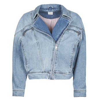 Kleidung Damen Jeansjacken Only ONLJACK Blau
