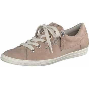 Schuhe Damen Sneaker Low Paul Green Damen Sneaker 4940 078 Beige Beige