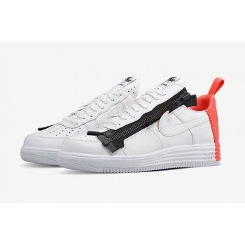 Schuhe Sneaker Low Nike Air Force 1 Lunar x Acronym Crimson White/Bright Crimson-Black