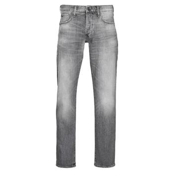 Kleidung Herren Straight Leg Jeans G-Star Raw 3301 STRAIGHT Grau
