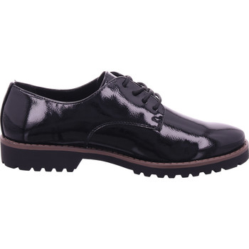 Schuhe Damen Derby-Schuhe & Richelieu Idana SchnUErhalbschuh sportlich/Sne PATENT BLACK 018