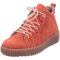 Schuhe Damen Boots Rieker - M6442-38 ziegel/ziegel 38