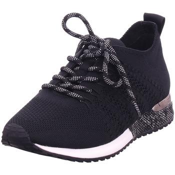 Schuhe Damen Sneaker Low La Strada - 1832649-4501 black knitted